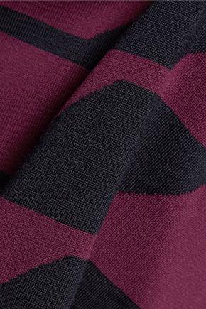 JIL SANDER Wool-blend midi skirt