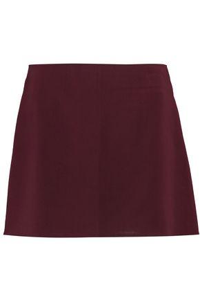 NINA RICCI Wool-blend crepe skirt