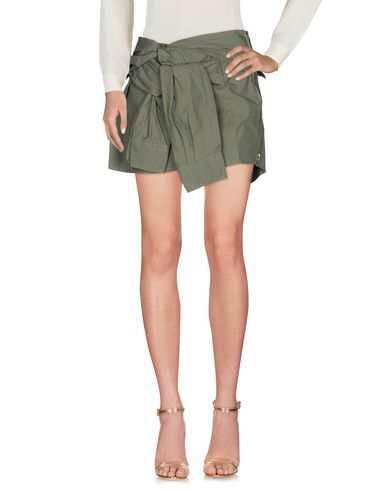 Купить Мини-юбка цвет зеленый-милитари