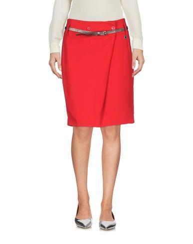 Фото - Мини-юбка от TWINSET красного цвета