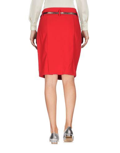 Фото 2 - Мини-юбка от TWINSET красного цвета