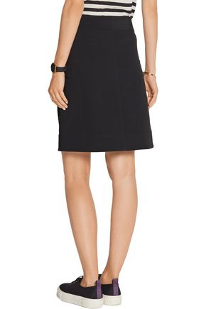 DKNY Stretch-cady skirt