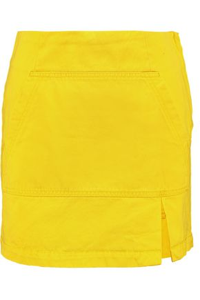 MARC BY MARC JACOBS Kangaroo denim mini skirt