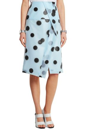 MARC BY MARC JACOBS Misty polka-dot PU skirt