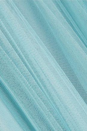 JENNY PACKHAM Pleated tulle maxi skirt
