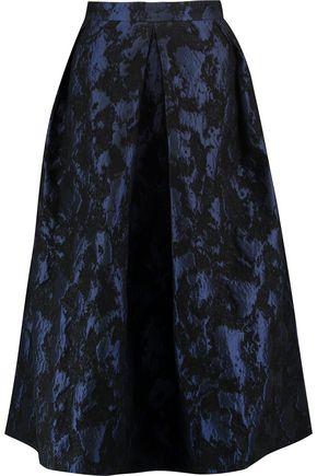 PERSEVERANCE Jacquard midi skirt