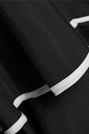 SACHIN & BABI Helena tiered ruffled cotton-blend faille maxi skirt