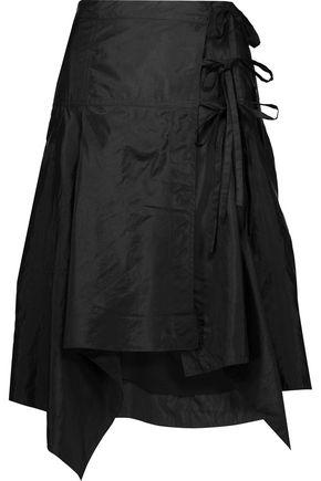 ISABEL MARANT Kerena asymmetric shell wrap skirt