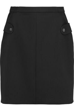 CARVEN Textured-crepe skirt
