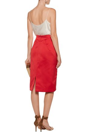 ZAC POSEN Duchesse-satin dress