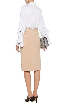 DION LEE Destiny reversible stretch-knit pencil skirt