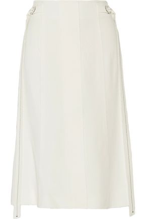 PROENZA SCHOULER Draped paneled crepe skirt
