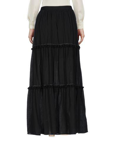 Фото 2 - Длинная юбка от SOUVENIR черного цвета