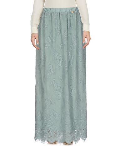 Купить Длинная юбка от SCEE by TWINSET светло-зеленого цвета