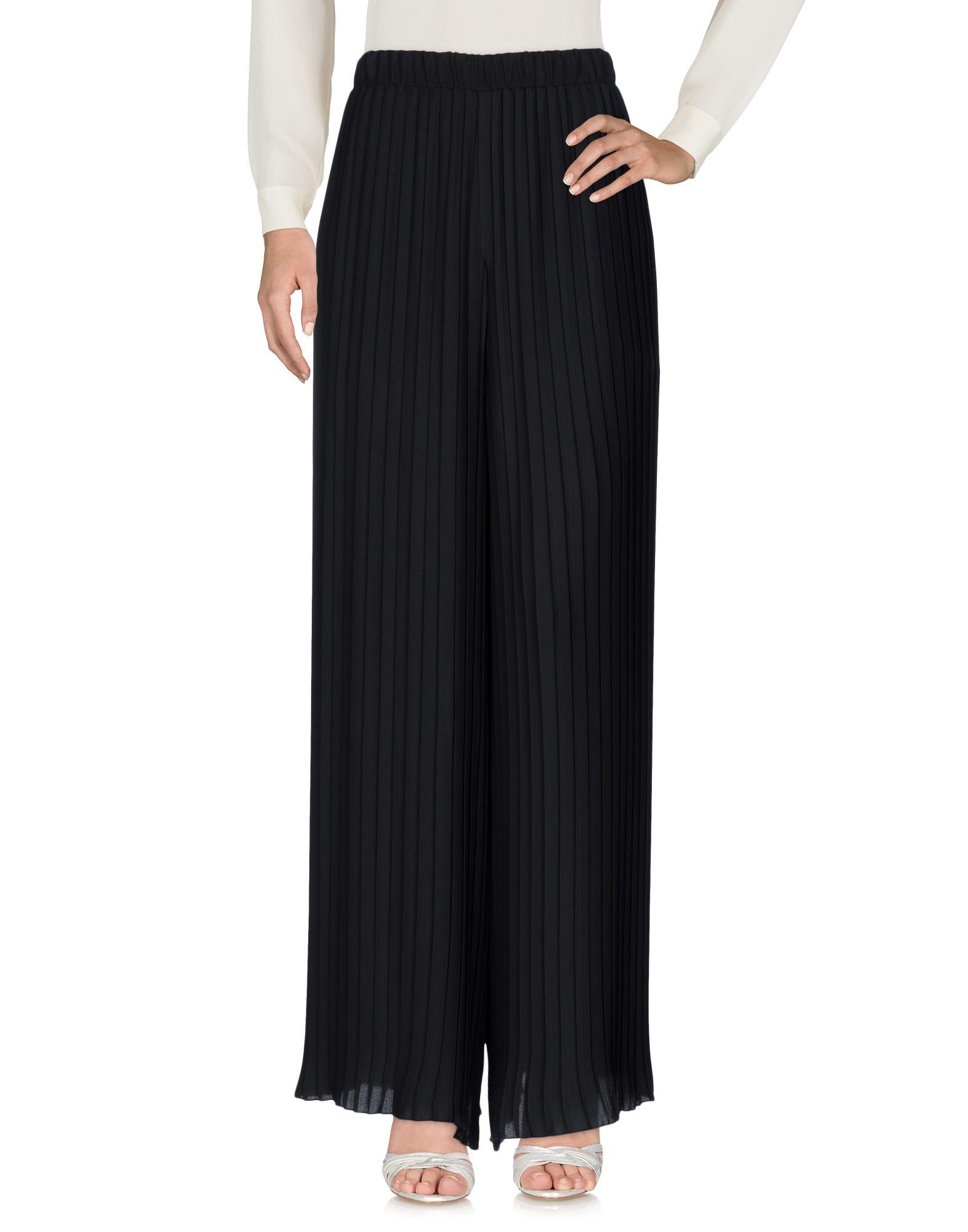 MAISON ESPIN Длинная юбка юбка брюки плиссе