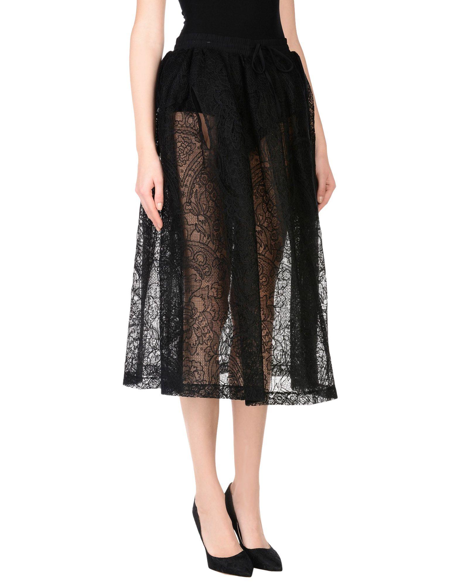 VERA WANG Юбка длиной 3/4 юбки vera nova юбка