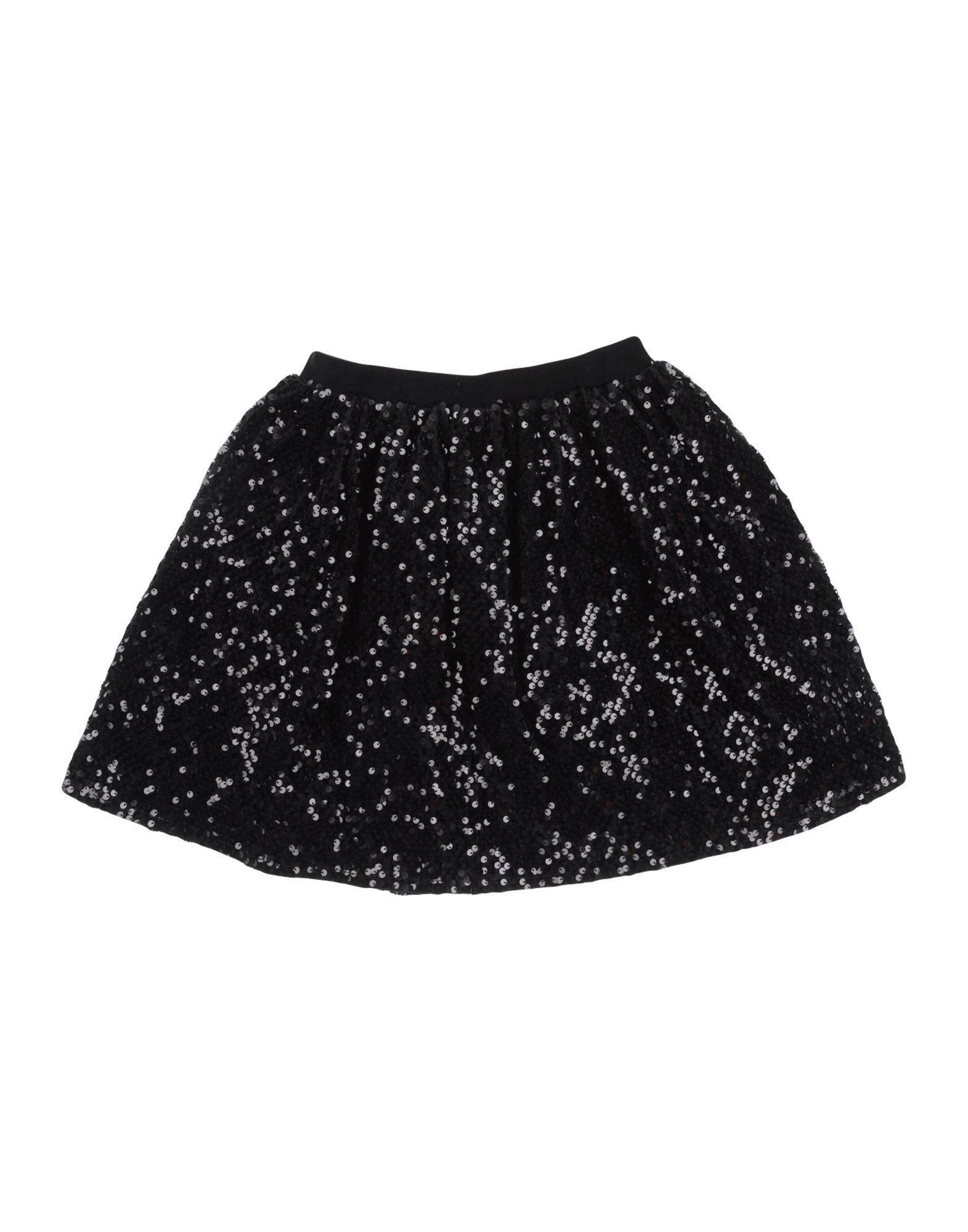 《セール開催中》GAUD? ガールズ 9-16 歳 スカート ブラック 10 ポリエステル 100% / ナイロン / ポリウレタン / ポリ塩化ビニル