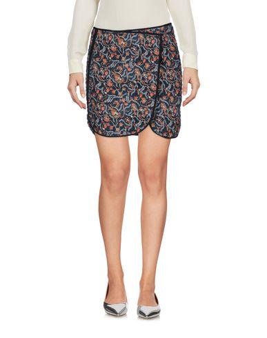 Купить Мини-юбка темно-синего цвета