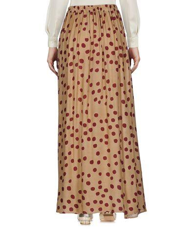 Фото 2 - Длинная юбка цвет верблюжий