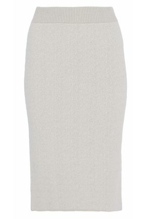 DUFFY Stretch-knit pencil skirt