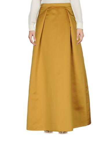 Фото - Длинная юбка цвет охра