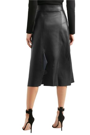 Leather Midi Skirt - Black Dion Lee Sale Order Up To Date For Sale Cheap Authentic SKB8DJn3I