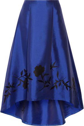 SACHIN & BABI Salma embellished satin-twill maxi skirt