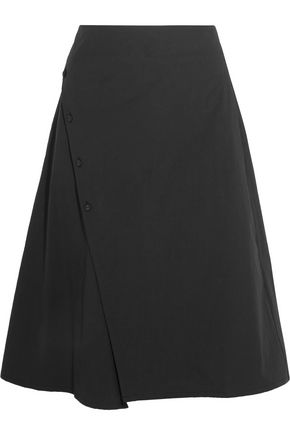 TOMAS MAIER Stretch-cotton poplin skirt