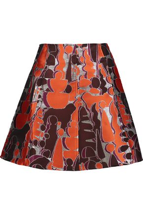 OPENING CEREMONY Dakota metallic jacquard mini skirt
