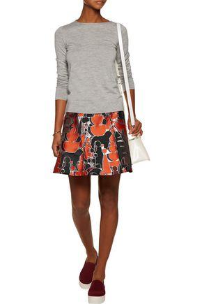OPENING CEREMONY Dakota metallic jacquard mini skirt