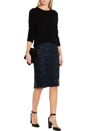 NINA RICCI Cornelli lace skirt