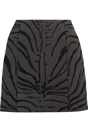 CARVEN Wool-blend jacquard skirt