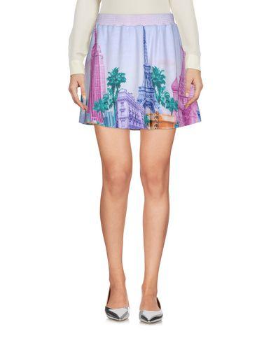 Купить Мини-юбка светло-фиолетового цвета
