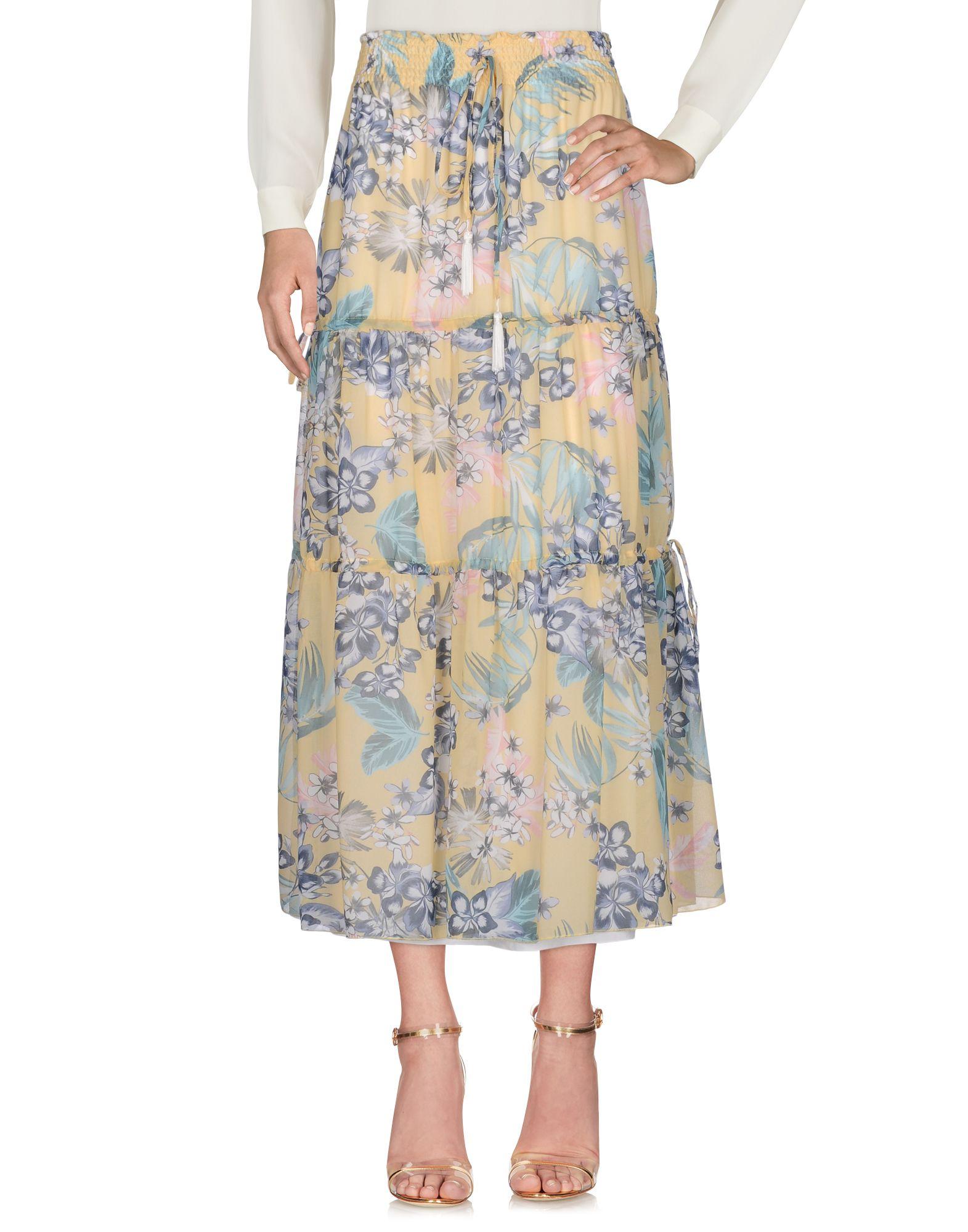 где купить ERMANNO DI ERMANNO SCERVINO Длинная юбка по лучшей цене