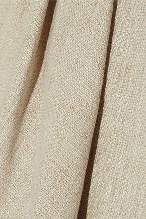 CARVEN Linen mini skirt