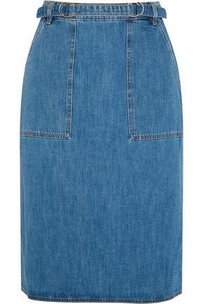 M.I.H JEANS Juno belted denim skirt