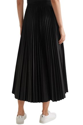2d61f12f1 Pleated shell midi skirt | THEORY | Sale up to 70% off | THE OUTNET