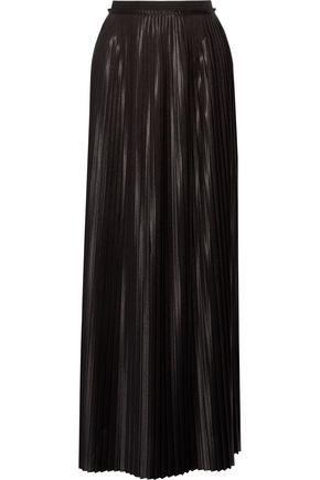 BY MALENE BIRGER Doha pleated charmeuse maxi skirt