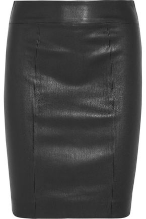 JOSEPH Clara leather skirt
