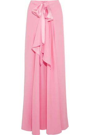 TOME Silk-charmeuse maxi skirt