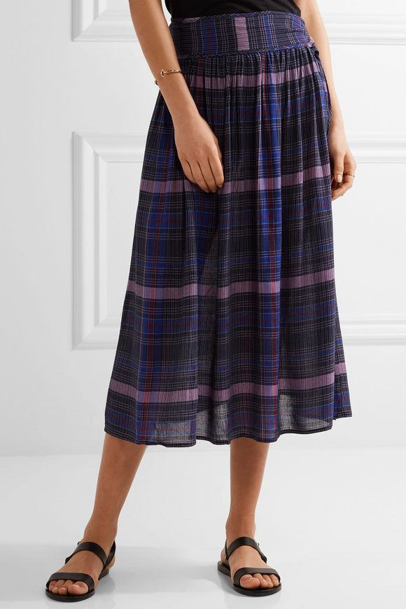 Elisa printed voile midi skirt | APIECE APART | Sale up to 70% off | THE  OUTNET