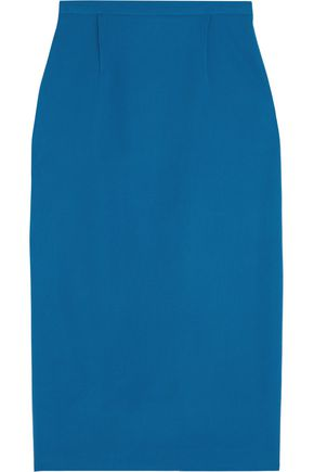 ROLAND MOURET Arreton stretch-crepe pencil skirt