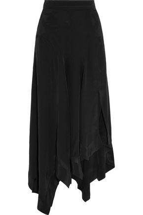 ISABEL MARANT Odelia asymmetric silk maxi skirt