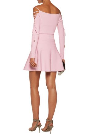 CUSHNIE ET OCHS Stretch-knit mini skirt