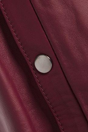 IRIS & INK Monica leather skirt