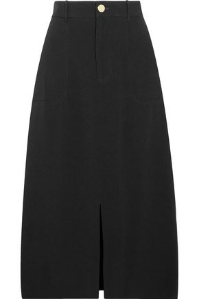 ZIMMERMANN Lavish crepe midi skirt