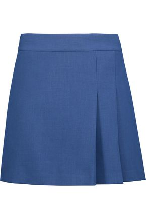 ALICE + OLIVIA Bianka pleated cady mini skirt
