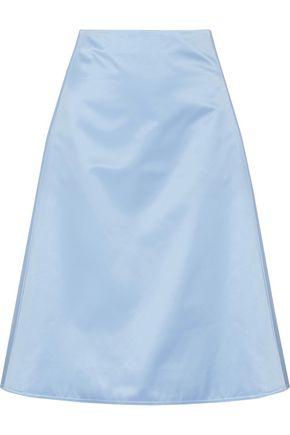 NINA RICCI Duchesse silk-satin skirt