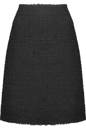 NINA RICCI Wool-blend bouclé-tweed skirt