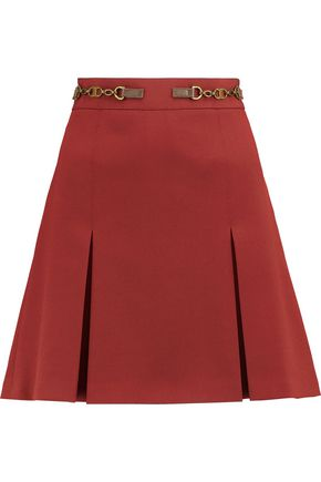 TORY BURCH Silla crepe mini skirt